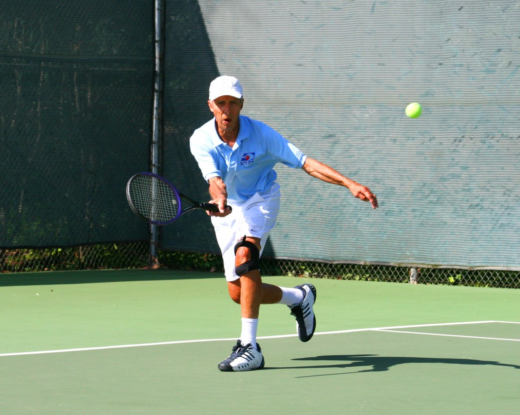 Long Time Valley Tennis Player, still playing at 86.